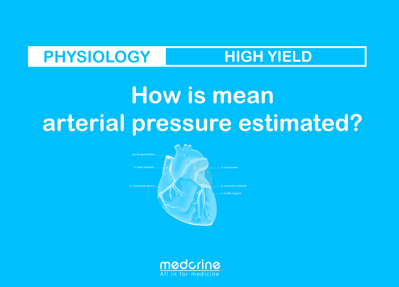 Mean arterial pressure Physiology