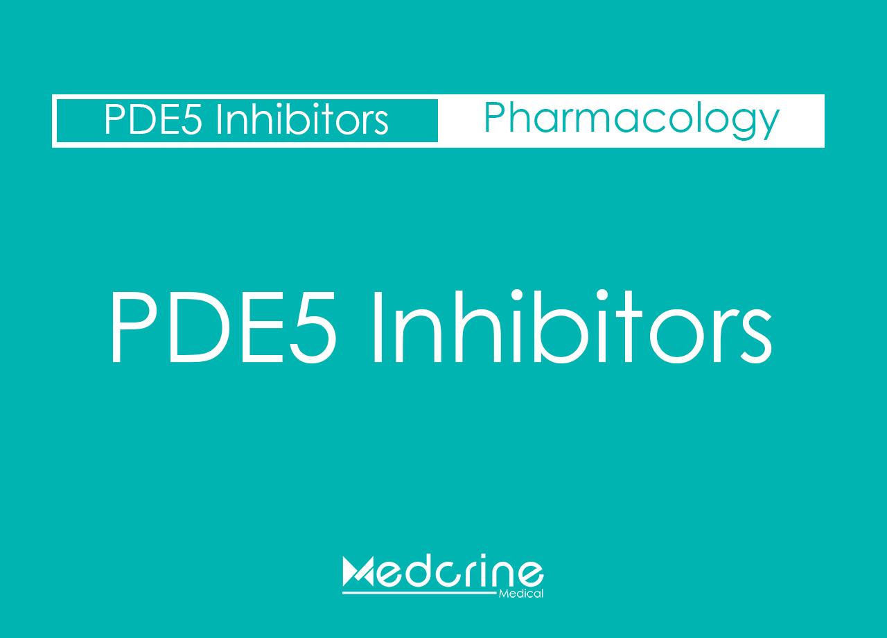 Phosphodiesterase Type 5 Inhibitors