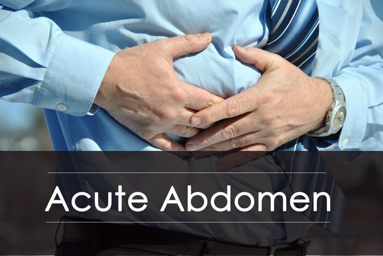 Acute Abdomen : Causes, Symptoms, Diagnosis and Treatment