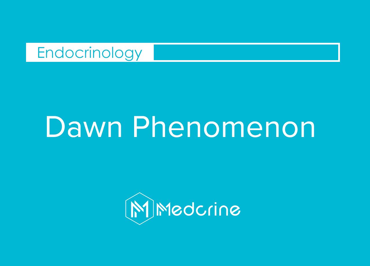 Dawn Phenomenon (Liver Dump)