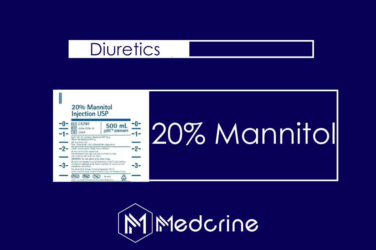 Mannitol 20% Intravenous infusion