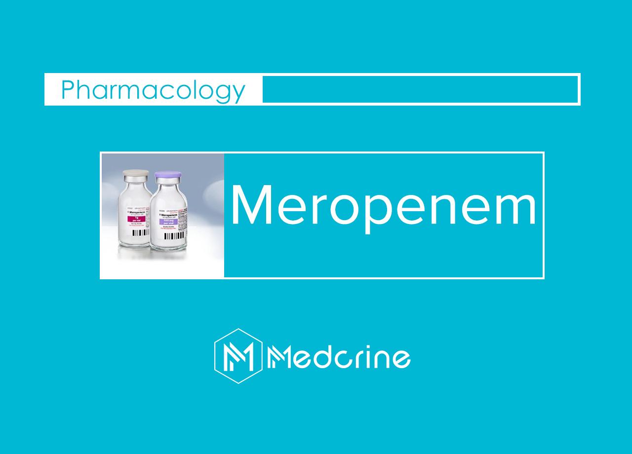 Meropenem: MOA, Indications, Dosage and Side Effects