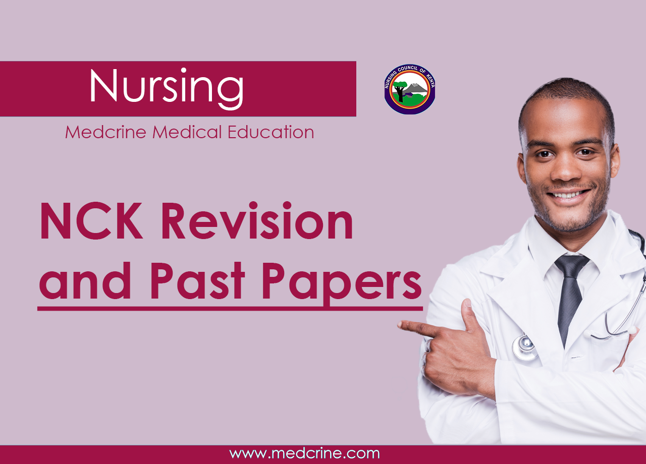 Nursing Council 2020 Past papers with answers and revision modules