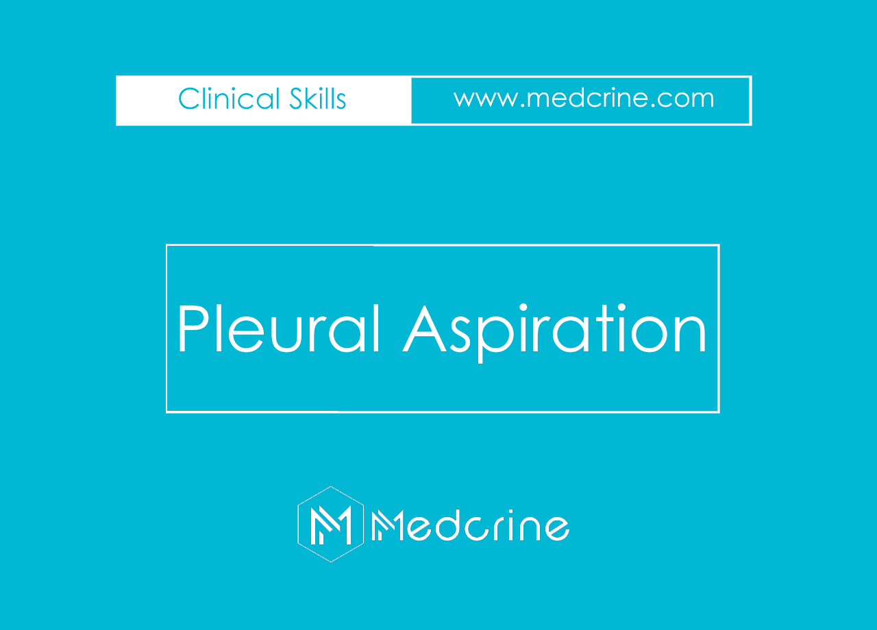 Pleural Aspiration/Thoracocentesis Procedure