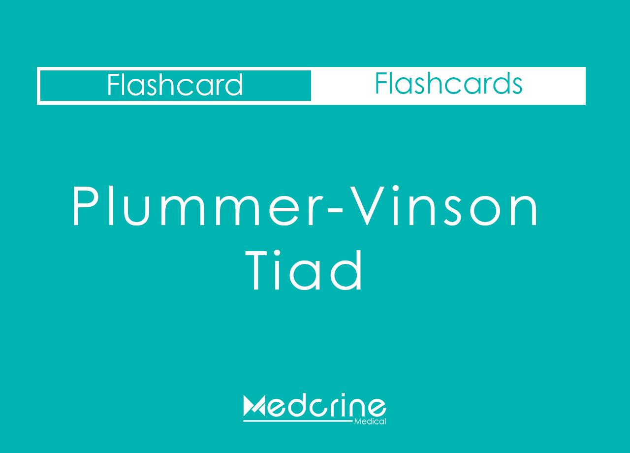 Plummer-vinson Triad