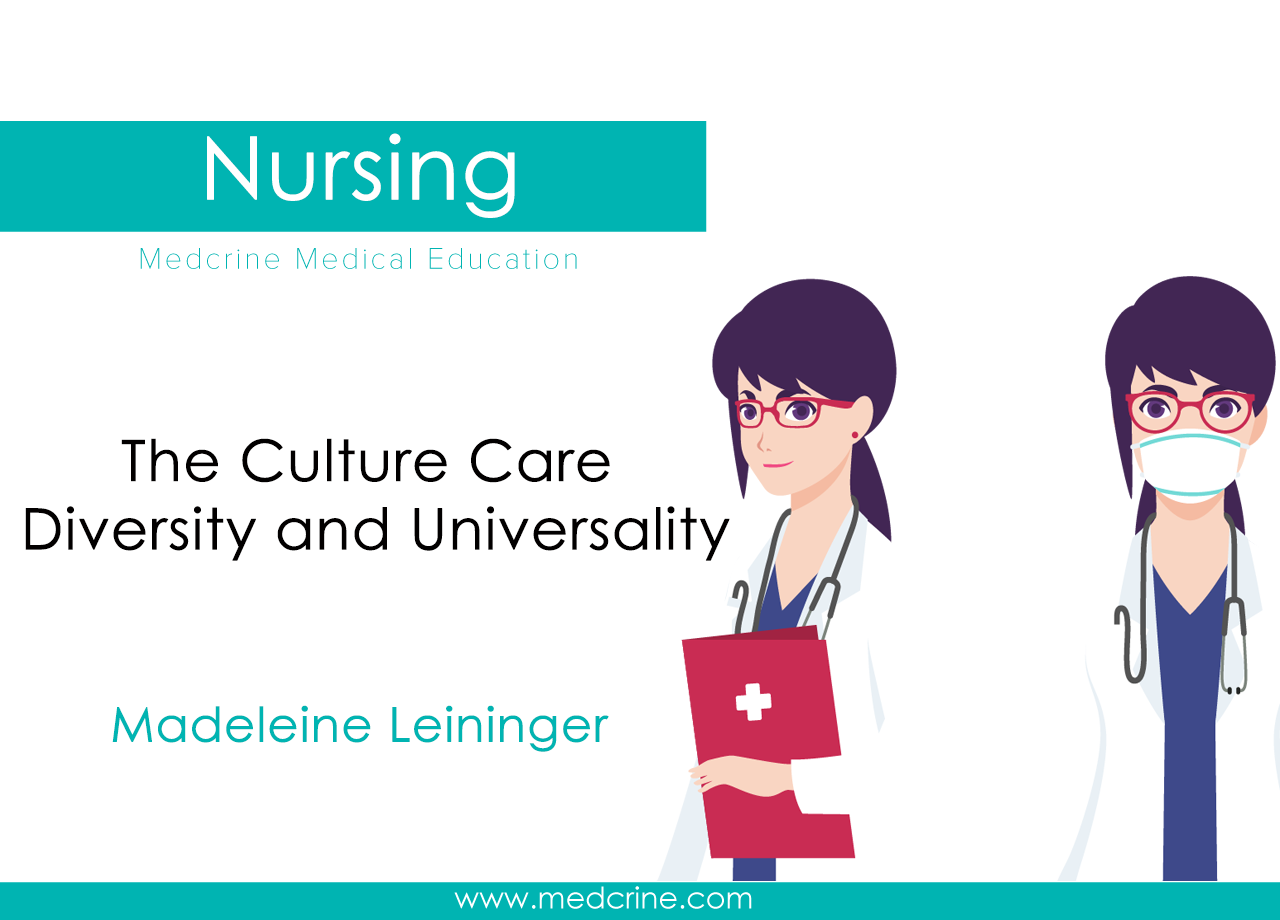 Madeleine Leininger - Culture Care Diversity and Universality